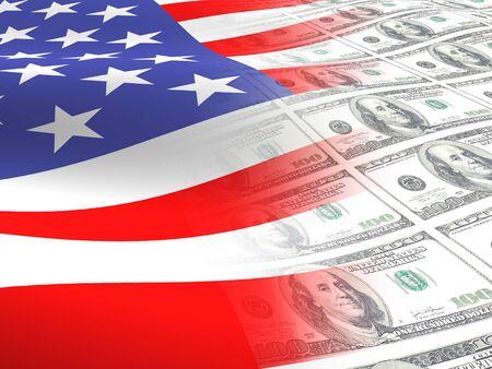 regierung: American Fahne  Lizenzfreie Bilder