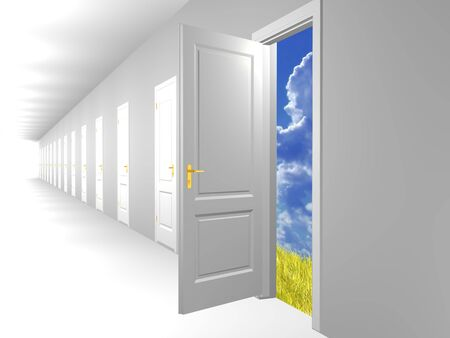 Doorway To Dreams Stock Photo
