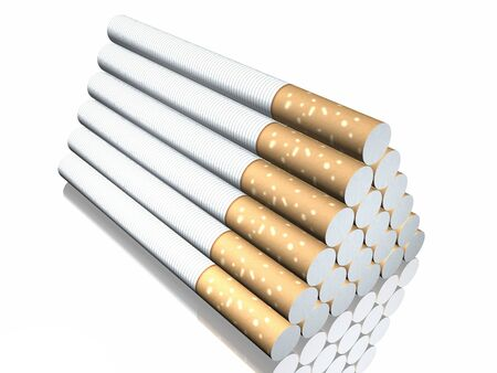 end of the trail: 3d cigarette