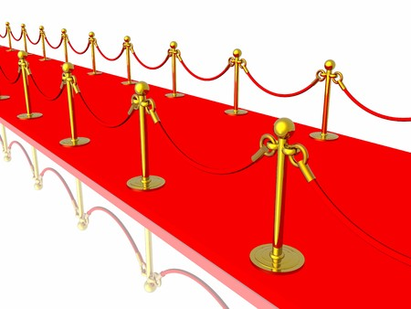 Red carpet Stock Photo - 4442944
