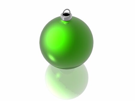 christmas decoration on the white background Stock Photo - 4490309