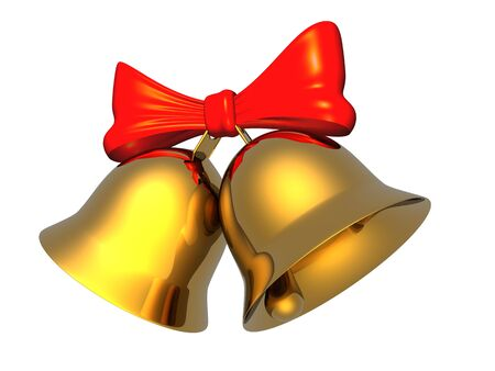 jingle bells: Christmas bells Stock Photo