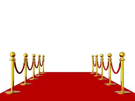 Red carpet Stock Photo - 4490343