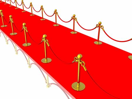 Red carpet Stock Photo - 4530108