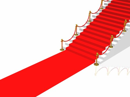 Red carpet Stock Photo - 4530072