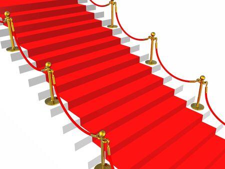 Red carpet Stock Photo - 4554875
