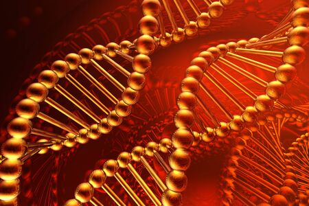 dna spiral Stock Photo - 4554987