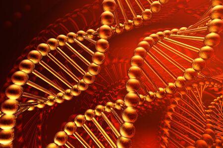 dna spiral Stock Photo - 4554987