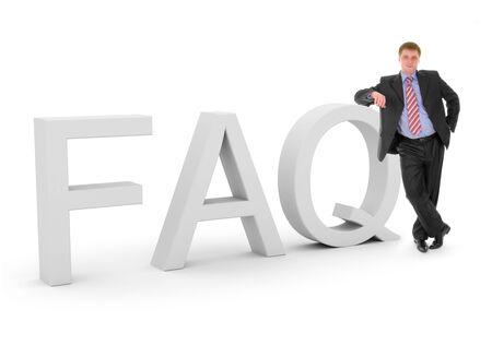 Business FAQ Stock Photo - 4563674