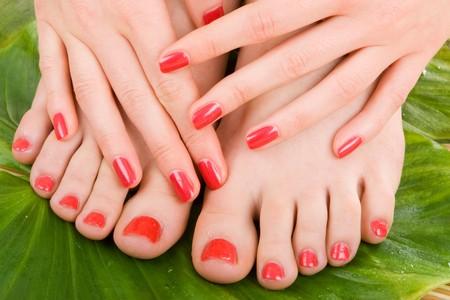 Pflege für Sinnlichkeit Frau Beine