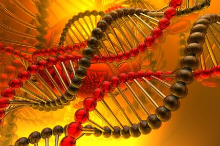 dna spiral Stock Photo - 4616243