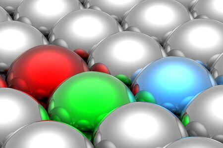 rgb: RGB spheres