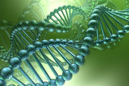 chromosome: dna espiral Foto de archivo