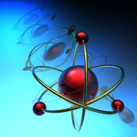 Render of molecule photo