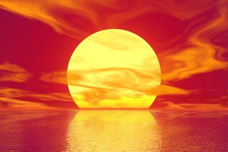 Golden Sunset Stock Photo - 5518546