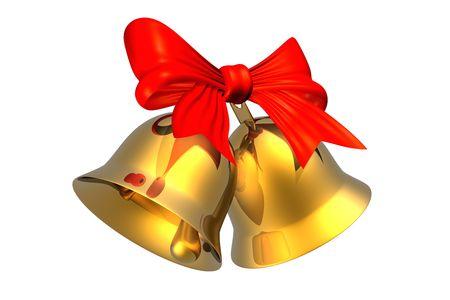 Vánoční zvonky Reklamní fotografie