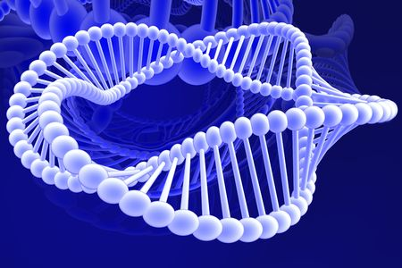 dna spiral Stock Photo - 5751340