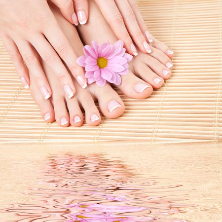 care for sensuality woman nails photo