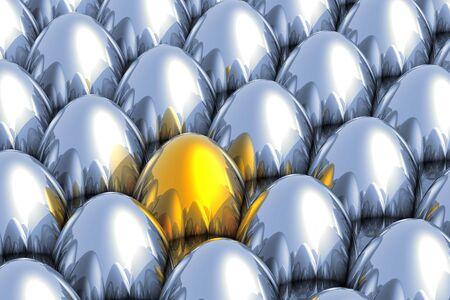 golden egg: Unique golden egg