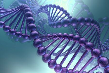 dna spiral Stock Photo - 6791067
