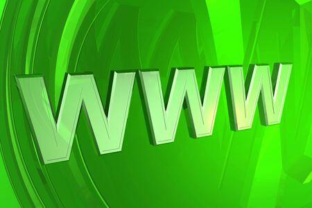 3d World Wide Web internet symbol Stock Photo - 6791064