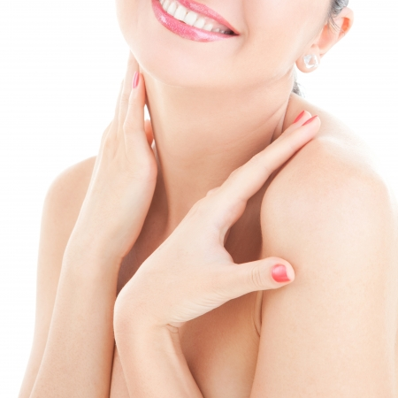 Care for sensuality woman body Stock Photo - 7420017