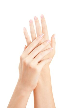 care for sensuality woman hands  Stock Photo - 7420015