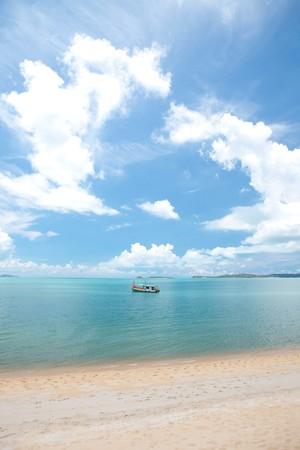 beautiful tropical seascape  photo