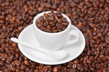 Cup with coffee Stock Photo - 13733411