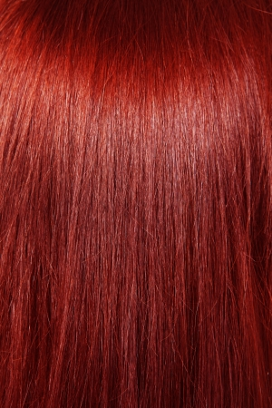tresses: Red hair background
