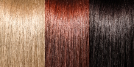 flaxen: Example of different hair colors