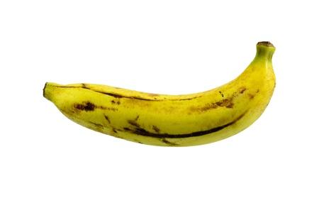 banana isolated on white background Stock Photo
