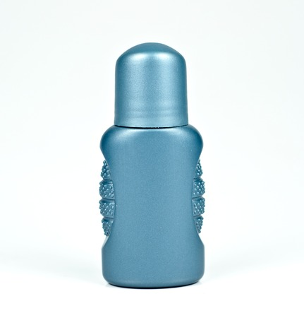 roll-on deodorant bottle isolated on a white background photo