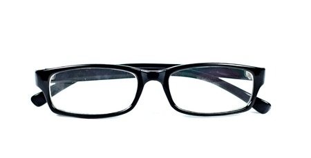 Glasses. Isolated on white background Stock Photo