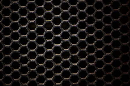 Hexagonal, honey comb stainless steel mesh