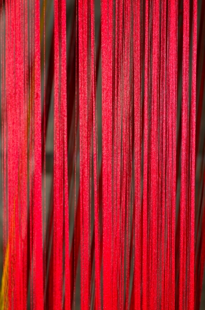 Raw silk thread background photo