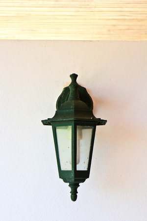 Outdoor wall lamp photo