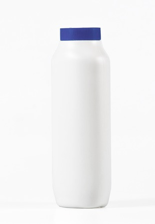 talcum: White Baby talcum powder container isolated on white