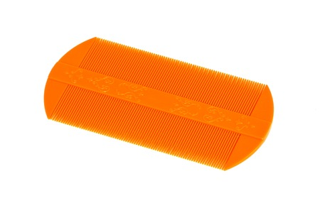 Lice comb isolated on a white background