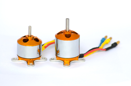 windings: Brushless motor Stock Photo