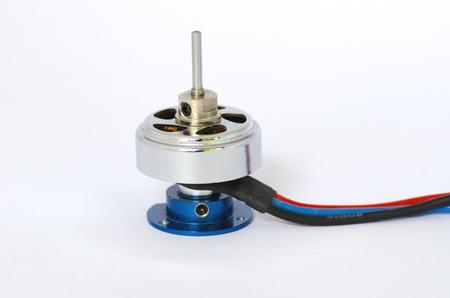 Brushless motor Stock Photo