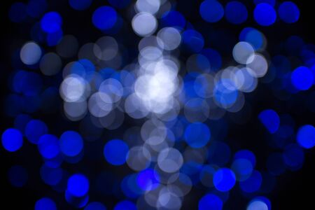 glittering stars on bokeh. Christmas background