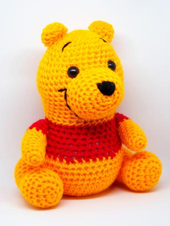 KNITTING PATTERN holds choc orange Winnie the Pooh inspired Sweet Honey Pot