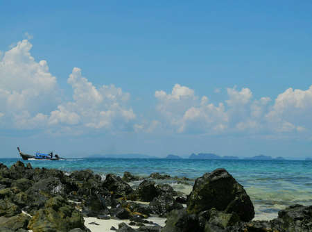krabi: Sea and Sky at talaywak, Krabi  Thailand