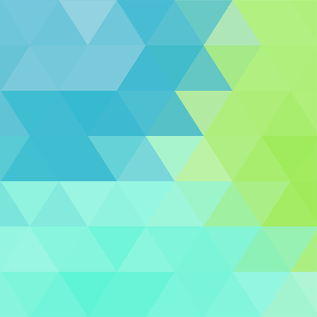 Triangular abstract background Illustration