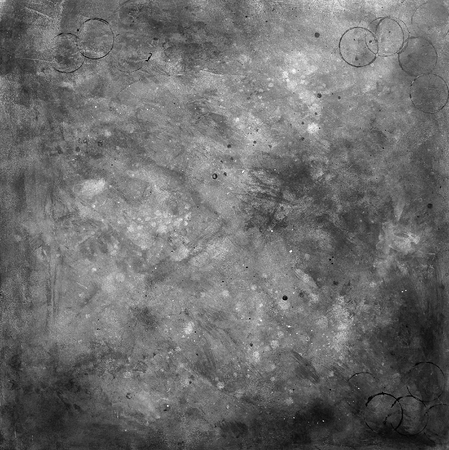 Textured gray background, Grunge, Texture, Black and white, Paint strew Stock Photo
