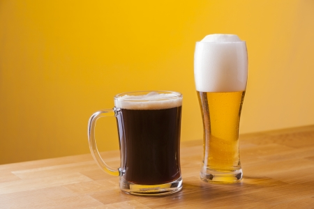 draught: delicious fresh draught wheat and lager beer