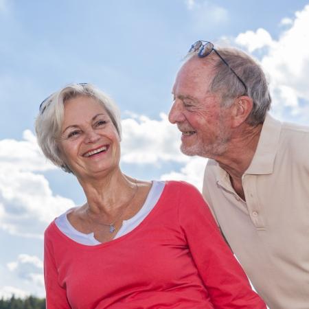 senior couple enjoying retirement Standard-Bild