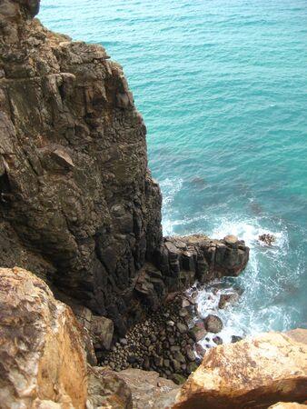 fraser: Indian Head Fraser Island Stock Photo