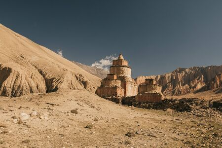 Upper mustang - Kingdom of Lo. tradition Nepal.